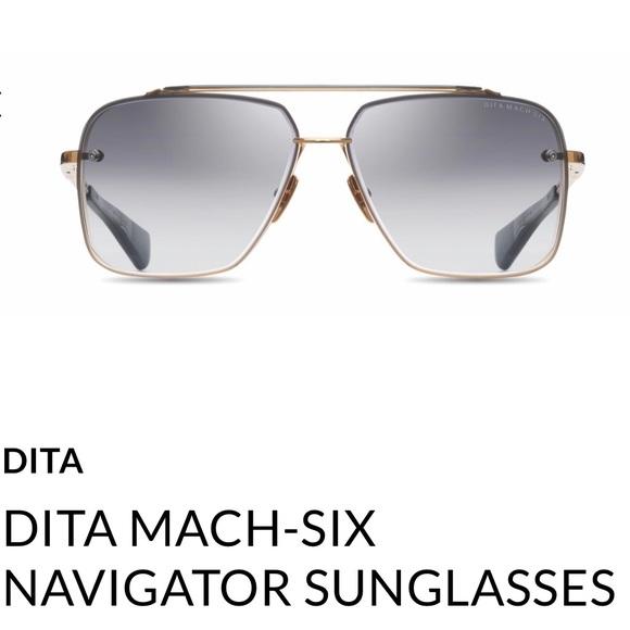 42d64cb63f91 Dita Mach 6 sunglasses navigator style unisex